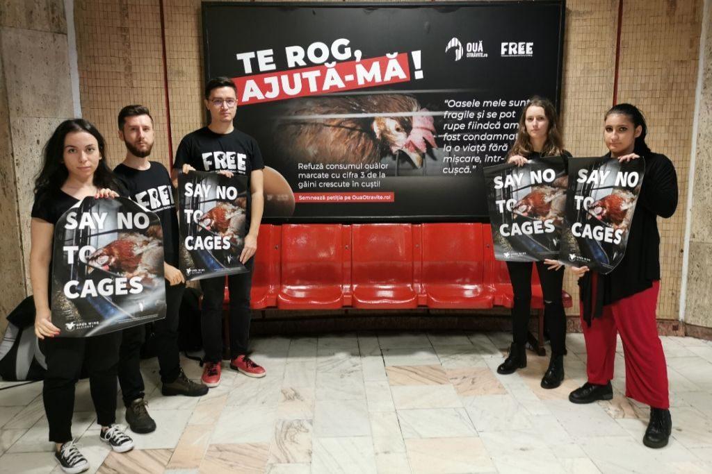 Reclamă metrou București